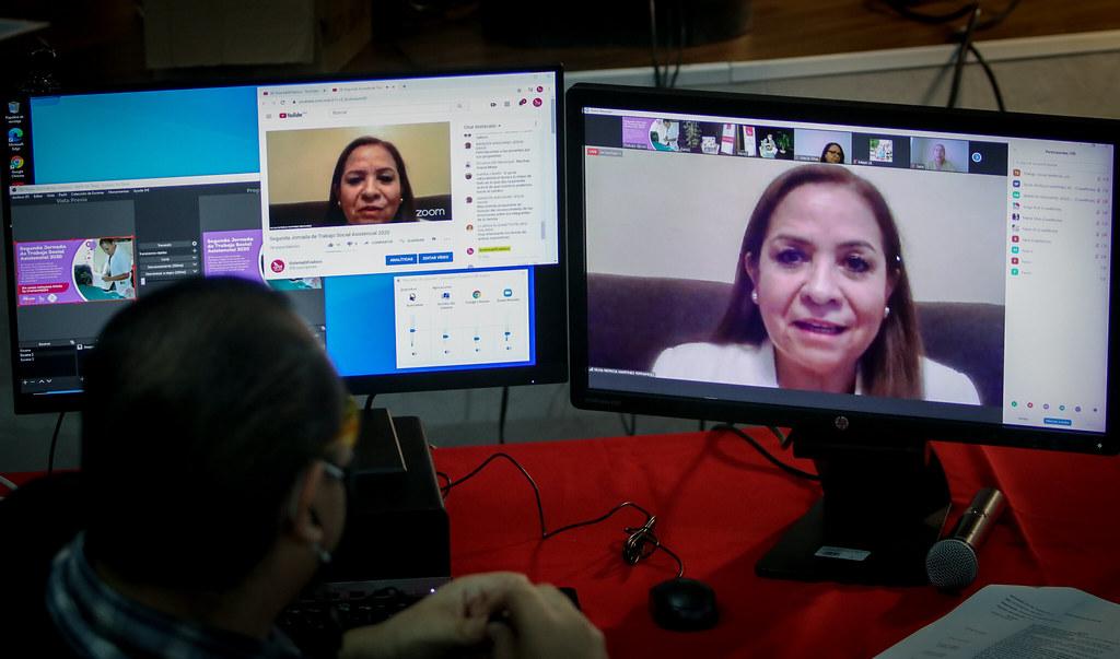 Reunión Virtual Trabajo Social