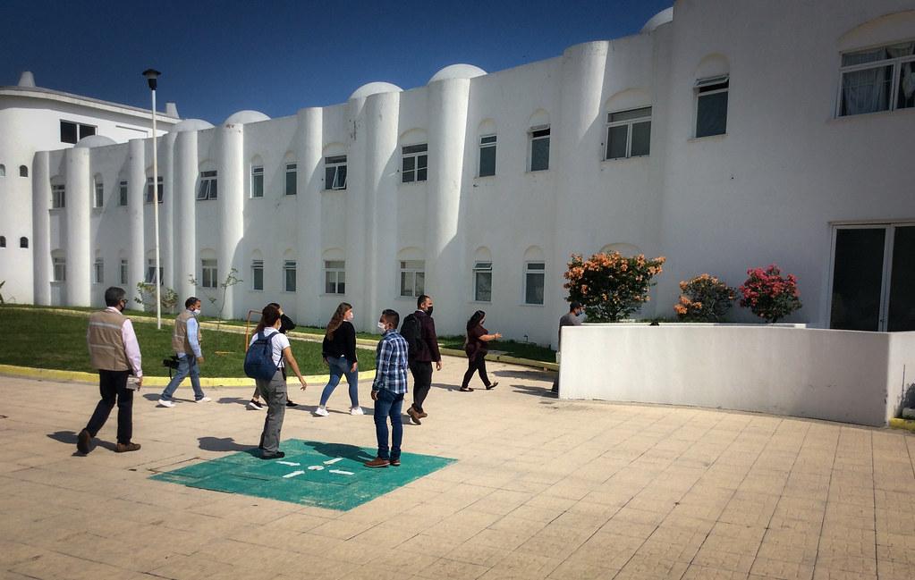 Revisan accesibilidad en Centro Cien Corazones