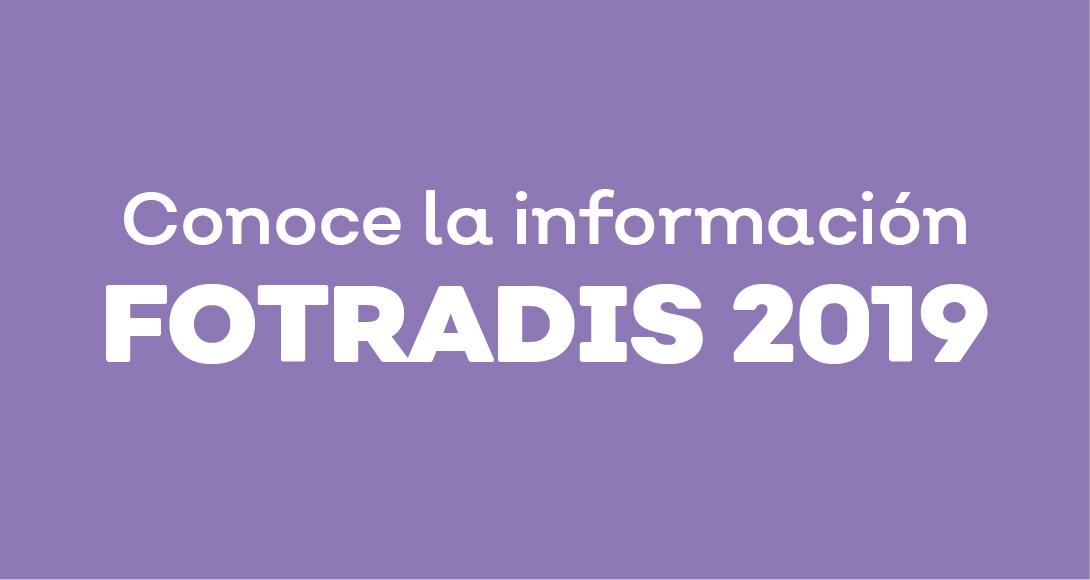 Informacion FOTRADIS 2019