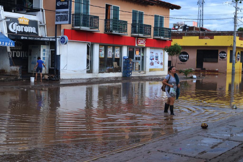 Comunidades afectadas por el Huracán Hernán