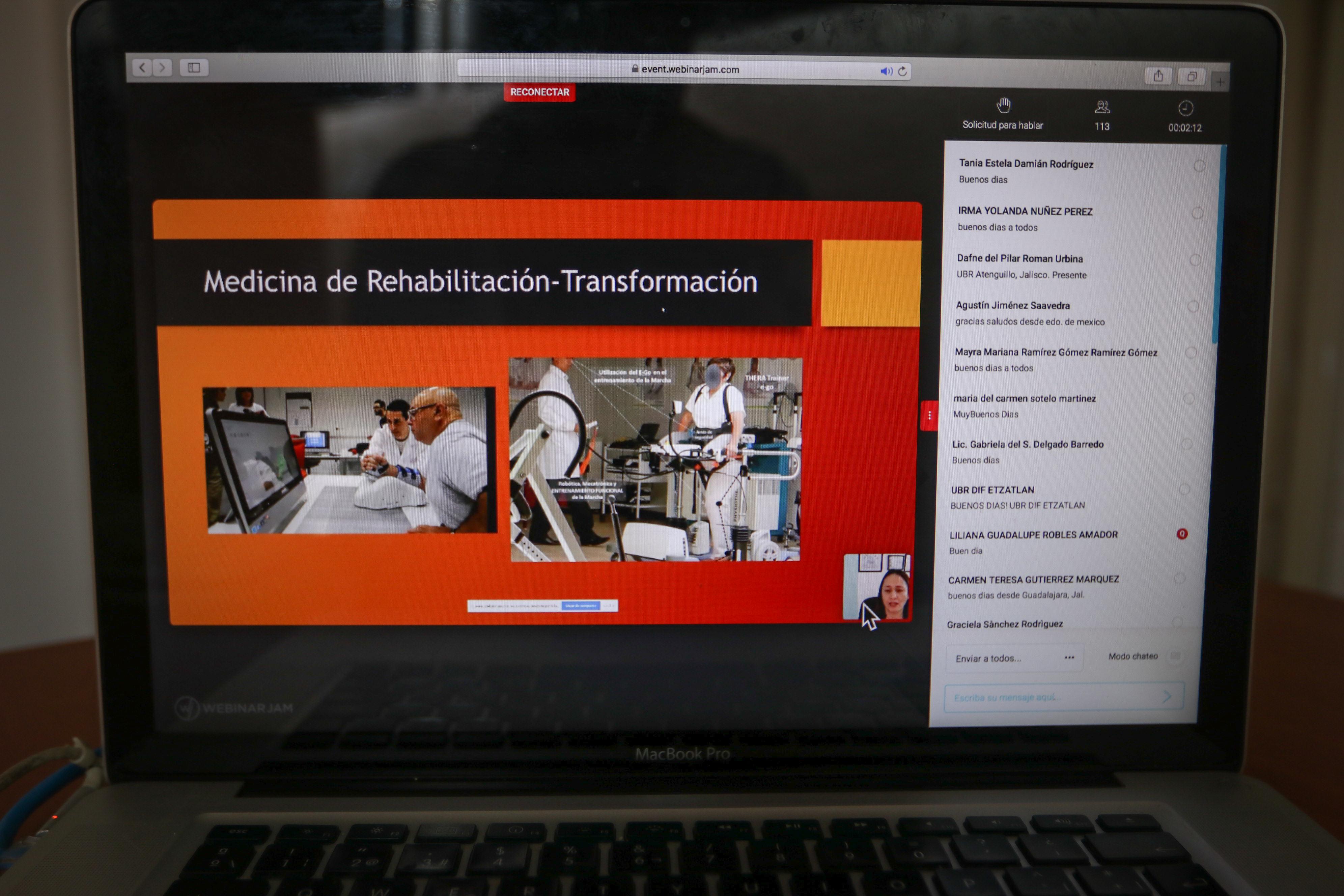 Encuentro virtual de egresados de medicina en rehabilitación del CRI