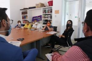 mesa de trabajo organizaciones de la sociedad civil