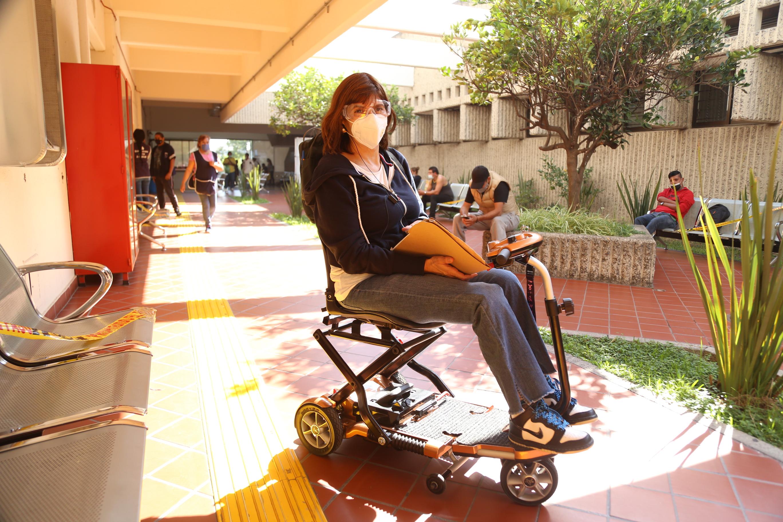 Personas con discapacidad atendida en el CRI