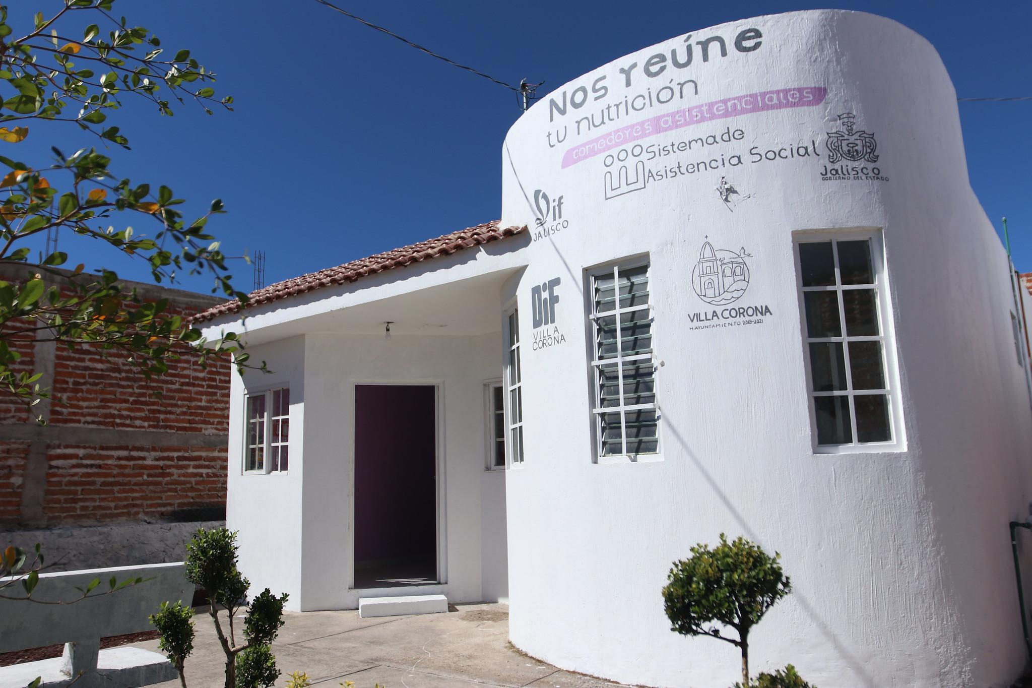 Comedor Asistencial inaugurado en la comunidad de Juan Gil Preciado, municipio de Villa Corona.