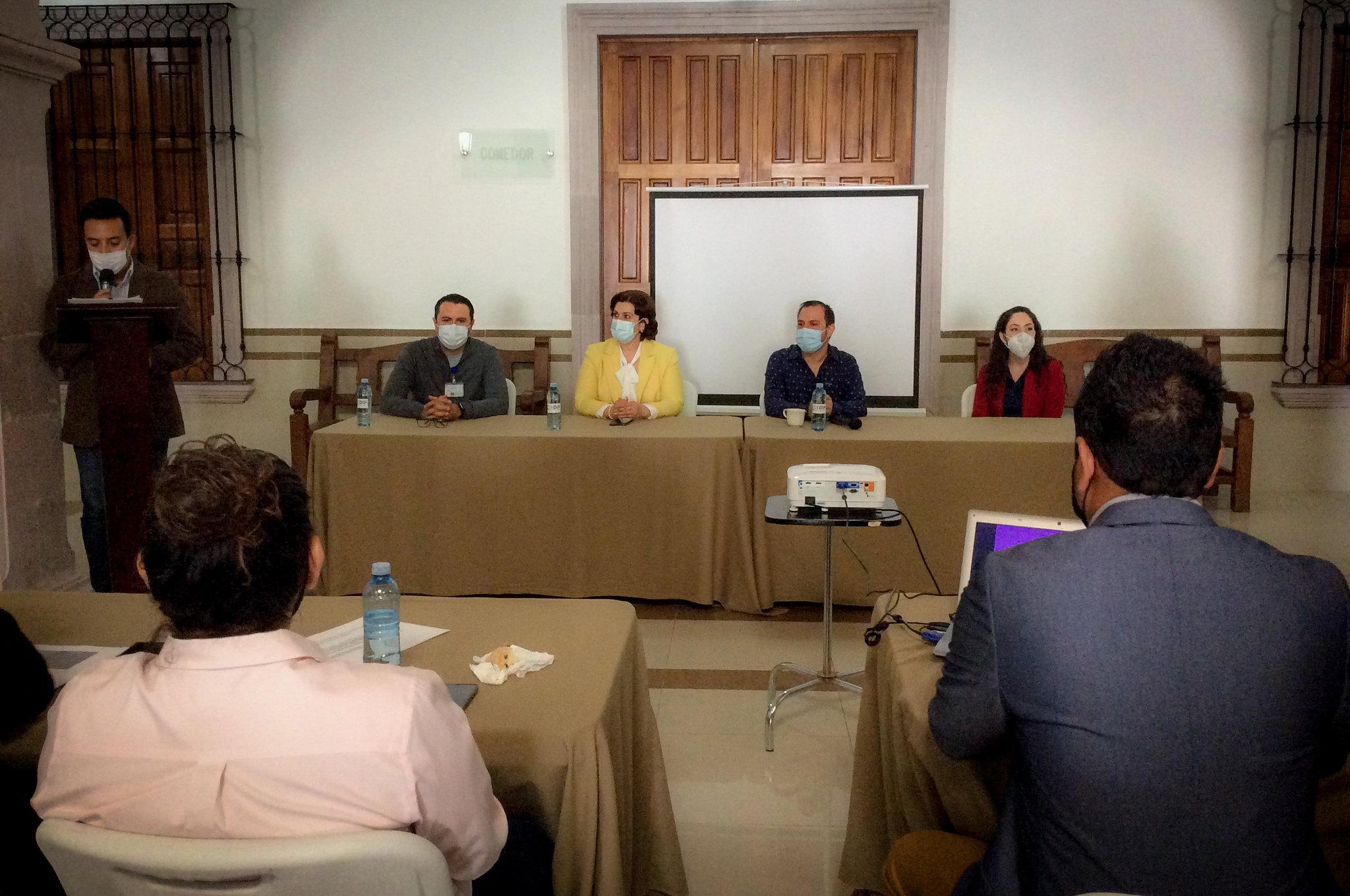 Capacitación para Delegaciones Institucionales de la Procuraduría de Protección de Niñas, Niños y Adolescentes en la Región Altos Sur.