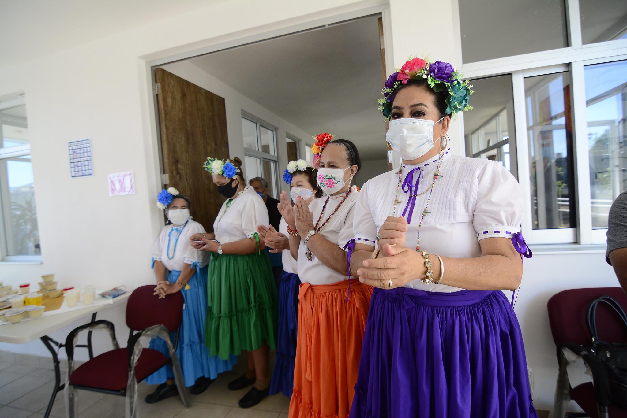 Inauguración del Centro de Día para Adultos Mayores en el Municipio de Ahualulco de Mercado.