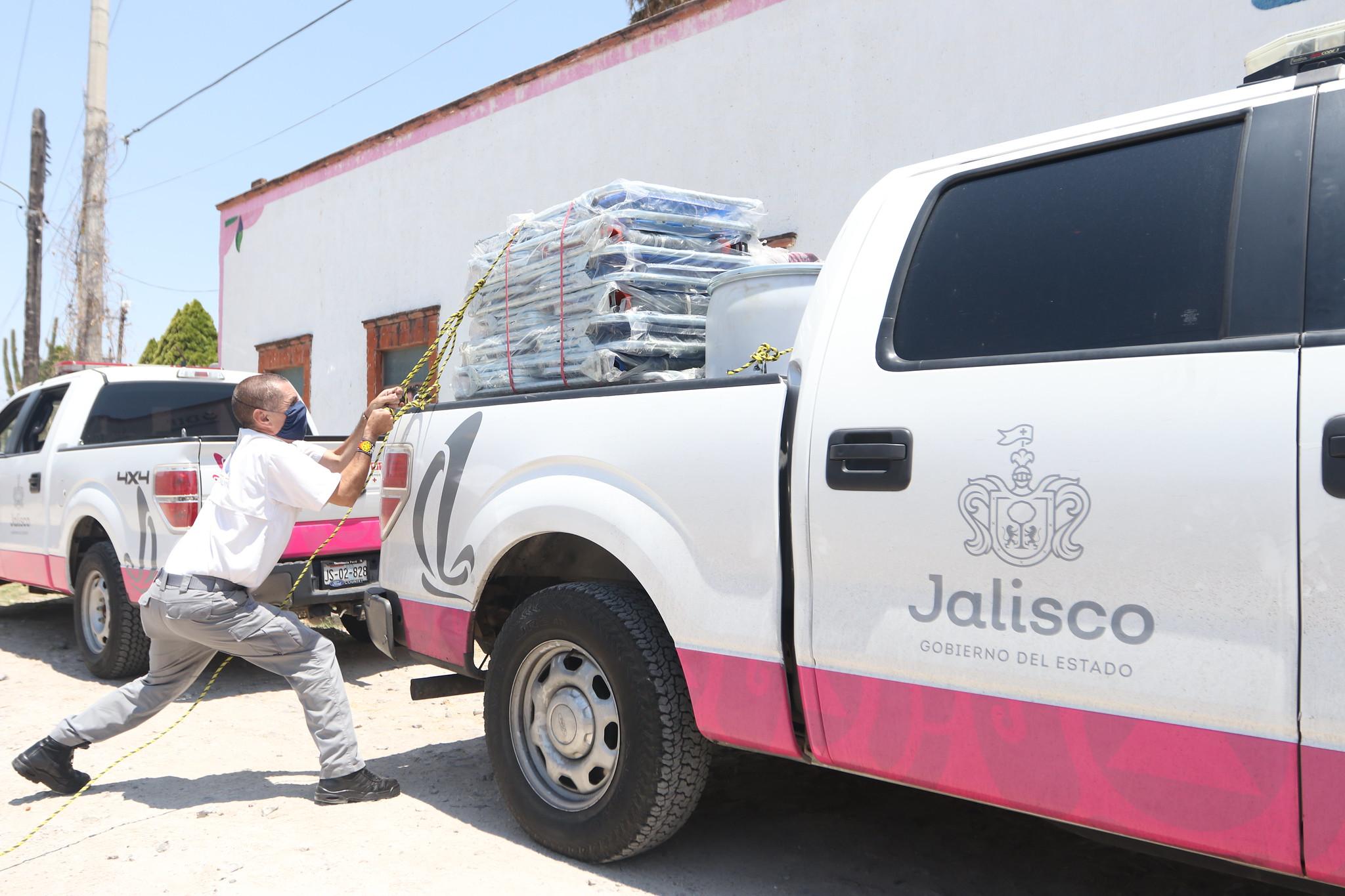 DIF Jalisco cuenta con insumos para abastecer refugios temporales durante temporada de ciclones tropicales.