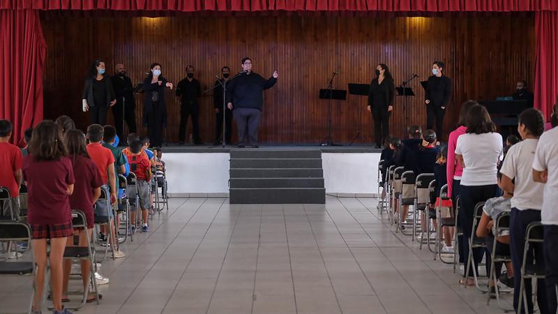 Coro del Estado de Jalisco en Hogar Cabañas