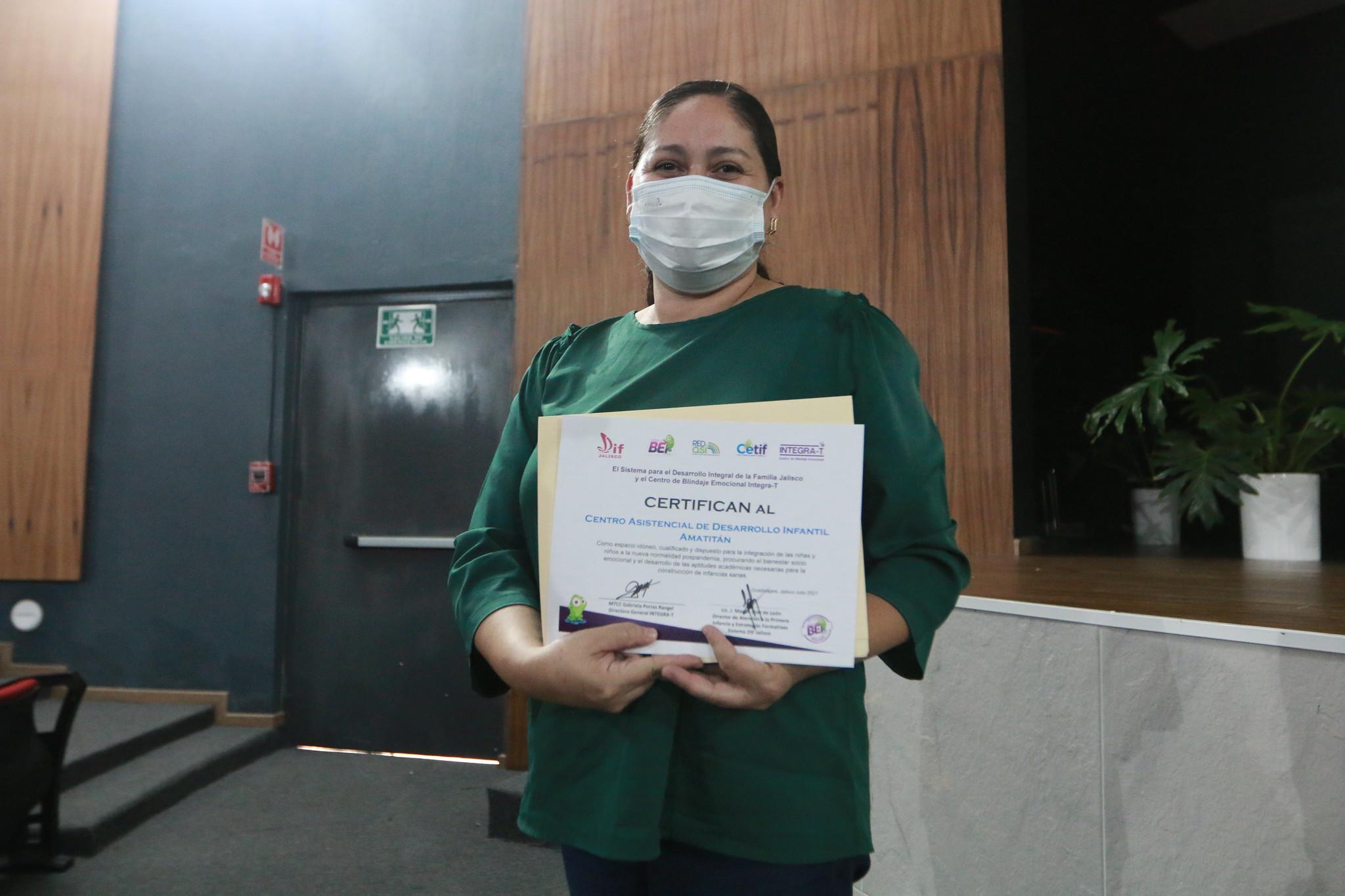 DIF Jalisco capacita a personal de Centros de Atención Infantil ante el regreso a clases presenciales.