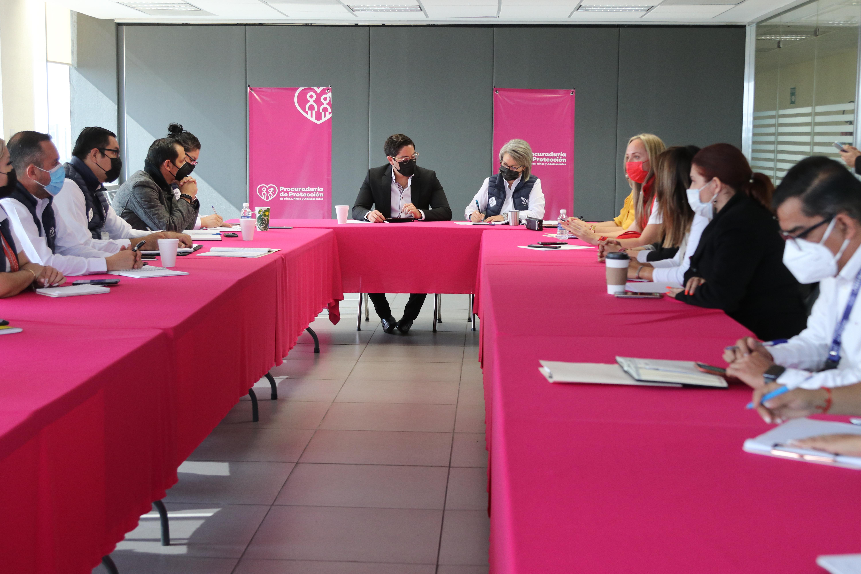 Reunión para cumplimiento del Protocolo Nacional de Coordinación Interinstitucional para la Protección de NNA Víctimas de Violencia.
