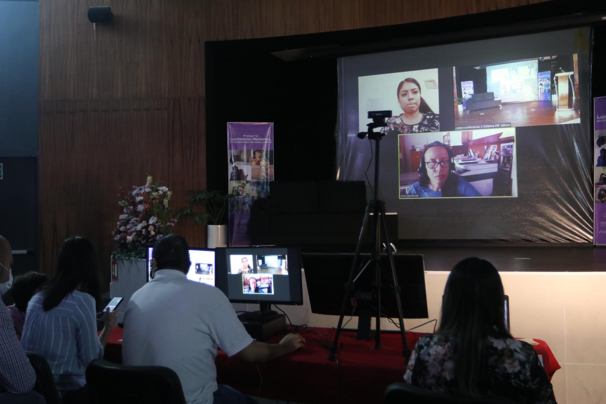 Conferencia en DIF Jalisco, en el marco de la Semana Mundial de la Lactancia Materna 2021.