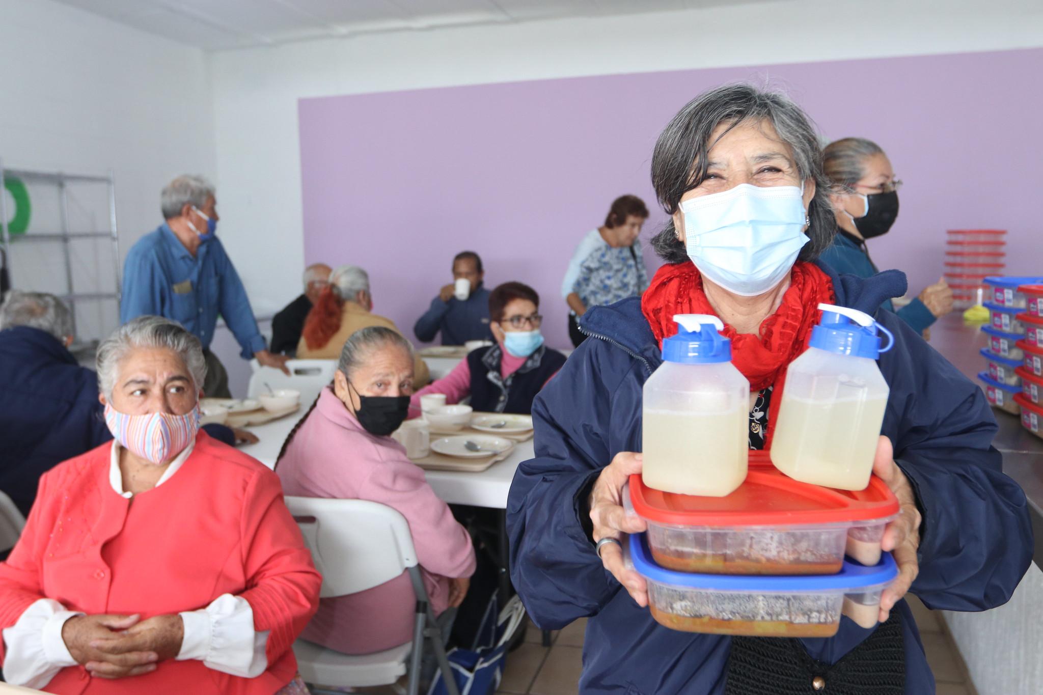 Comedor Asistencial para Personas Adultas Mayores y Grupos Prioritarios en  fraccionamiento Agaves, Tlajomulco de Zúñiga.