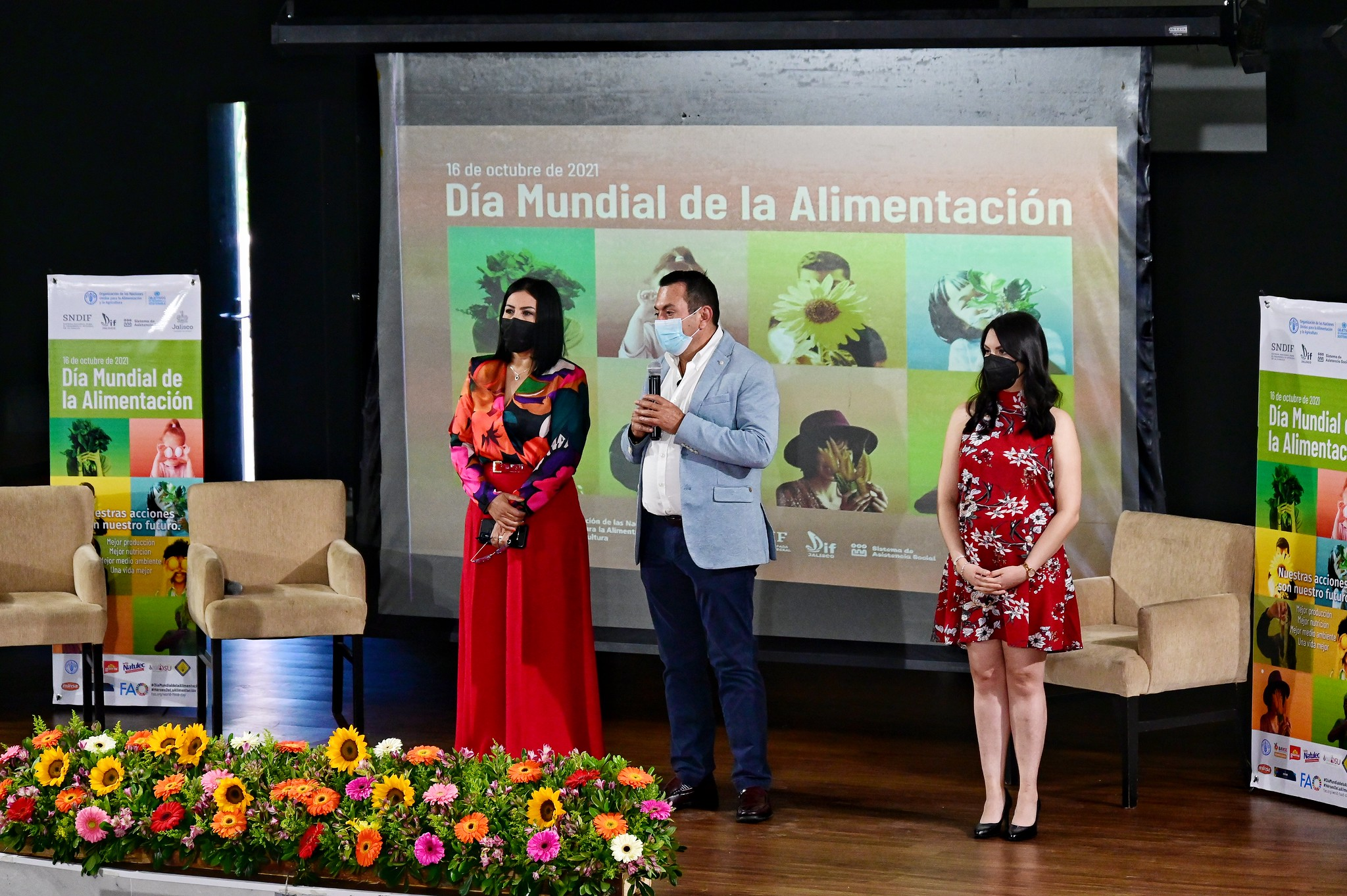 Conmemoración del Día Mundial de la Alimentación en SSAS y DIF Jalisco.