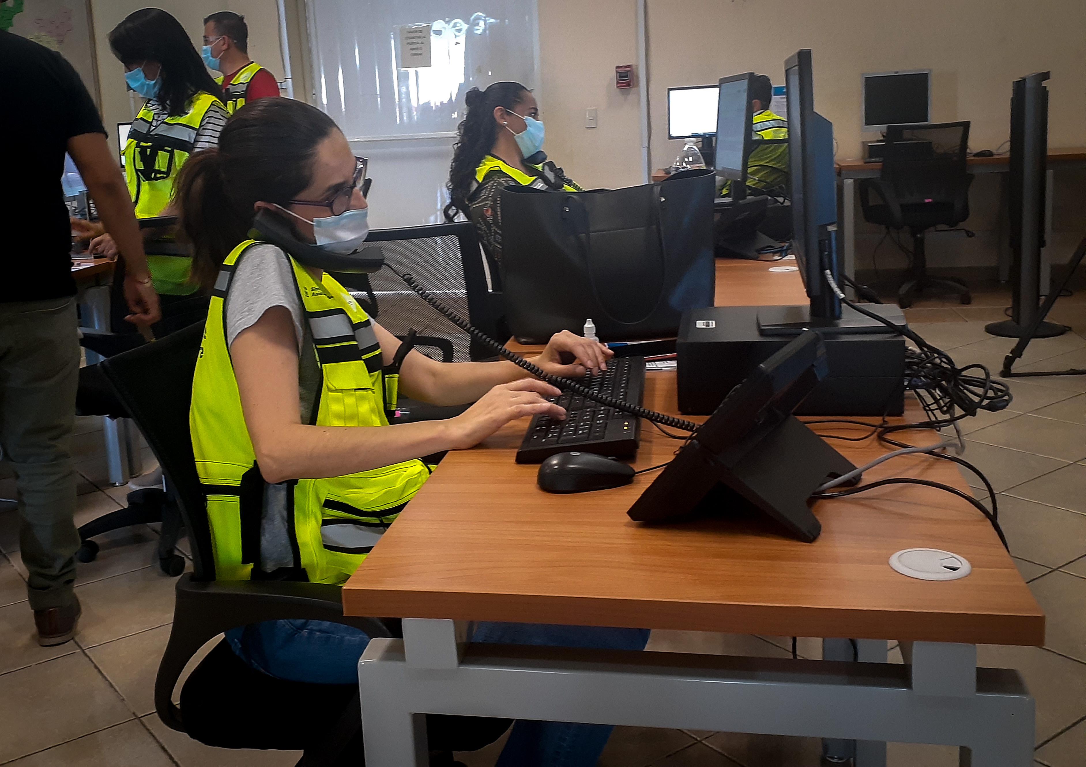 Call center en operación